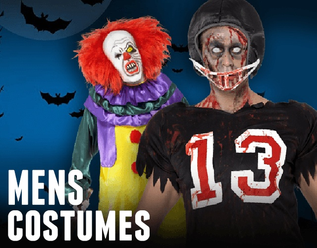 Huge range of fantastic Mens Christmas Costumes